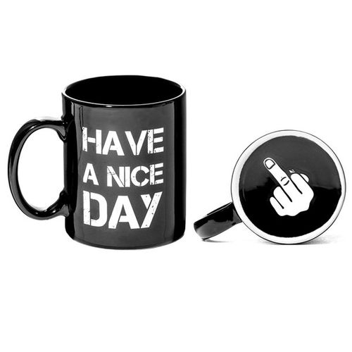 Have a nice day bögre - fekete